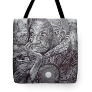 Rooted In The Ground Of Being Tote Bag