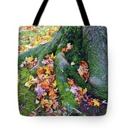 Roots And Leaves Tote Bag