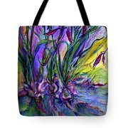 Roots In Blue Tote Bag