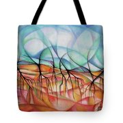 Roots In The Warm Earth Tote Bag