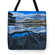 Roots On The Edge Of Beauvert Tote Bag