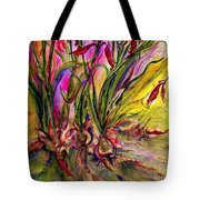 Roots In Pink Tote Bag