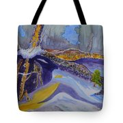 Roots Wide And Deep Tote Bag