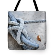 Rope On Cleat Tote Bag