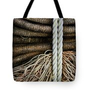 Ropes And Fishing Nets Tote Bag