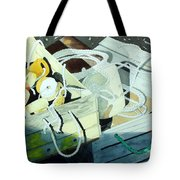 Ropes And Floats Tote Bag