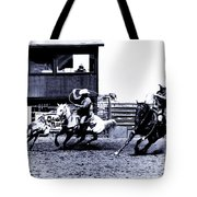 Roping 1 Tote Bag