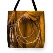 Roping Broncos Tote Bag