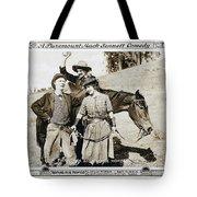 Roping Her Romeo 1919 Tote Bag