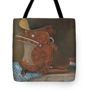 Roping Saddle Tote Bag