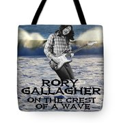 Crest Of A Wave 2 Tote Bag