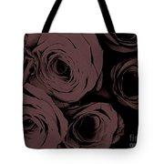 Rosa D'amore Deep Mauve Tote Bag
