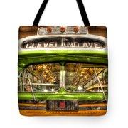 Rosa Parks Bus Dearborn Mi Tote Bag