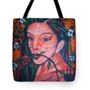Rosales Latina Tote Bag