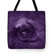 Rose - Purple Tote Bag