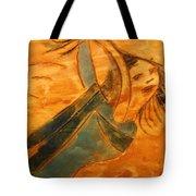 Rose - Tile Tote Bag
