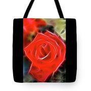 Rose-5827-fractal Tote Bag