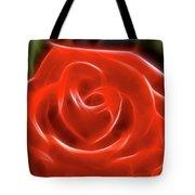 Rose-5845-fractal Tote Bag