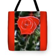 Rose-5879-fractal Tote Bag