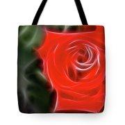 Rose-5890-fractal Tote Bag