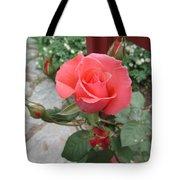Rose America Tote Bag