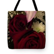 Rose And Lily Tote Bag