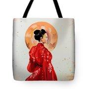Rose Asia Tote Bag