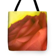 Rose At Sunset Tote Bag