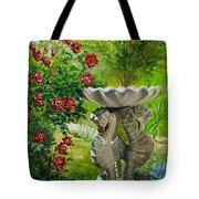 Rose Bath Tote Bag