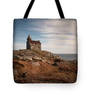 Rose Blanche Lighthouse Tote Bag