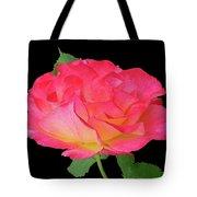 Rose Blushing Cutout Tote Bag