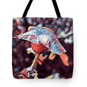 Rose Bud Frozen In Time  Tote Bag
