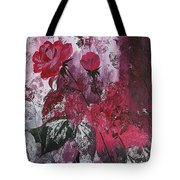 Rose Burst Tote Bag
