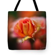 Rose Centerpiece Tote Bag