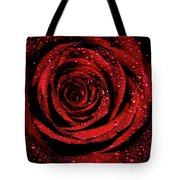 Rose Dew Tote Bag