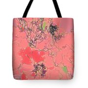 Rose Diffused Tote Bag
