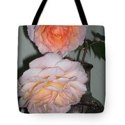 Rose Duet Tote Bag