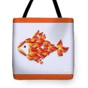 Rose Fish Tote Bag