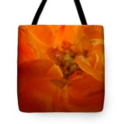 Rose Flower Orange Glowing Rose Giclee Baslee Troutman Tote Bag