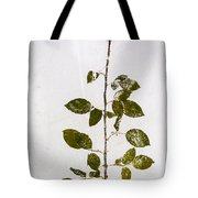 Rose Frozen Inside Ice Tote Bag by John Wadleigh