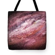 Rose Galaxy Tote Bag