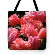 Rose Garden Art Prints Pink Red Rose Flowers Baslee Troutman Tote Bag