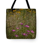 Rose Gentian With Brown Eyed Susans Tote Bag