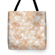 Rose Gold Marble Mermaid Scales Abstract Painting By Tina