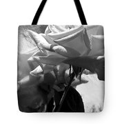 Rose Gray Tones Tote Bag
