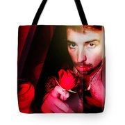 Rose Human Tote Bag by John Jr Gholson