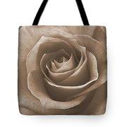 Rose In Sepia Tote Bag