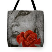 Rose Kisses Tote Bag