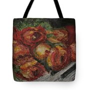 Rose Melody Tote Bag