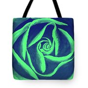 Rose Mint Tote Bag